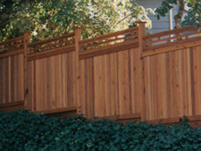 Huckleberry Fence