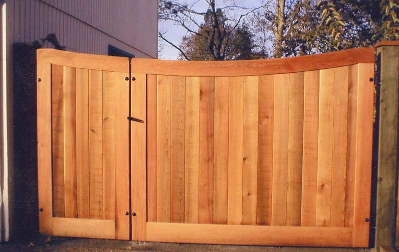 Double Fence Gate