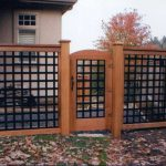 Metal Grid Fence Powder Coated